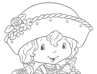 desenhos de pintar imprimir e colorir desenhos da moranguinho
