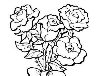 desenhos de flores para pintar lm15 ivango