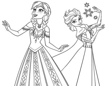 desenhos de pintar imprimir e colorir desenhos do frozen