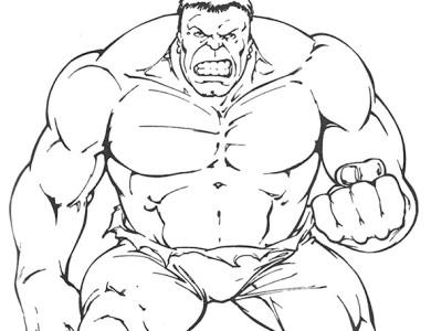 desenhos de pintar imprimir e colorir desenhos do hulk