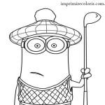 Minion Golfista