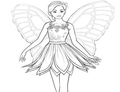 Desenhos Da Barbie Desenhos Para Imprimir E Colorir