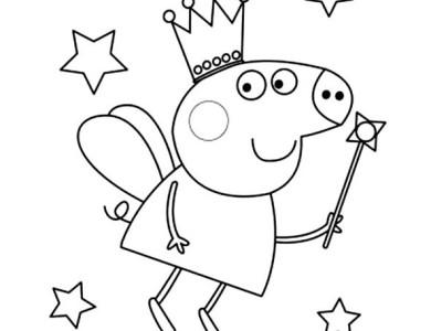 Agora que sabe um pouco mais sobre a Peppa já pode se divertir colorindo  suas imagens favoritas!