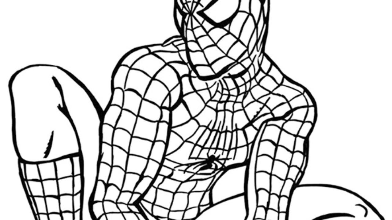 Homem Aranha Desenhos Para Imprimir E Colorir