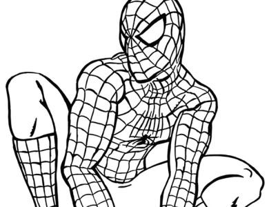 desenhos de pintar imprimir e colorir desenhos do homem aranha