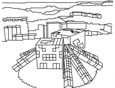 desenhos de pintar imprimir e colorir desenhos do minecraft