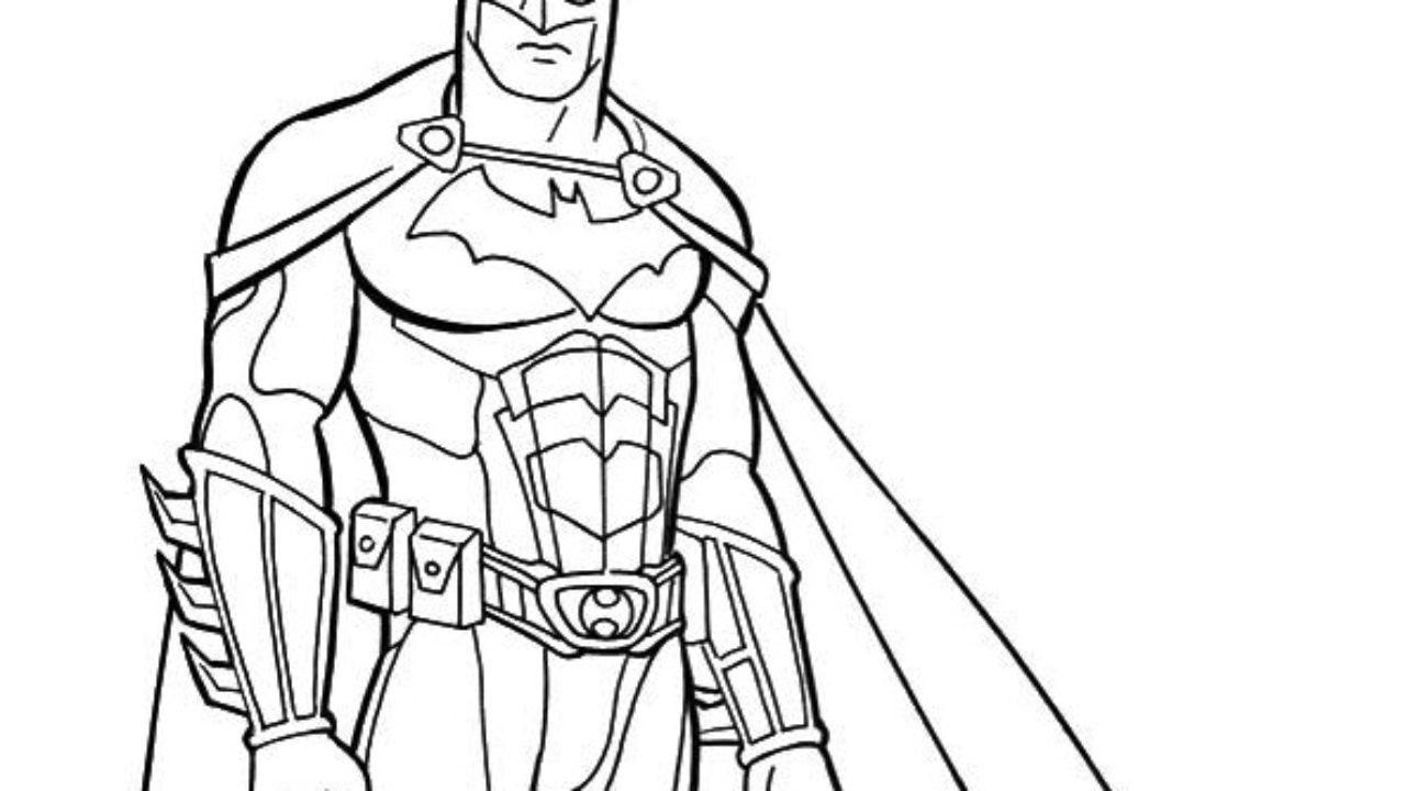 Batman Desenhos Para Imprimir E Colorir