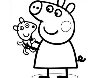 personagens de peppa pig para colorir · peppa pig pintar