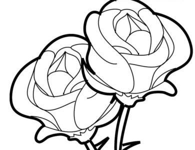 Desenhos De Flores Desenhos Para Imprimir E Colorir