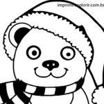 Urso de Pelúcia de Natal
