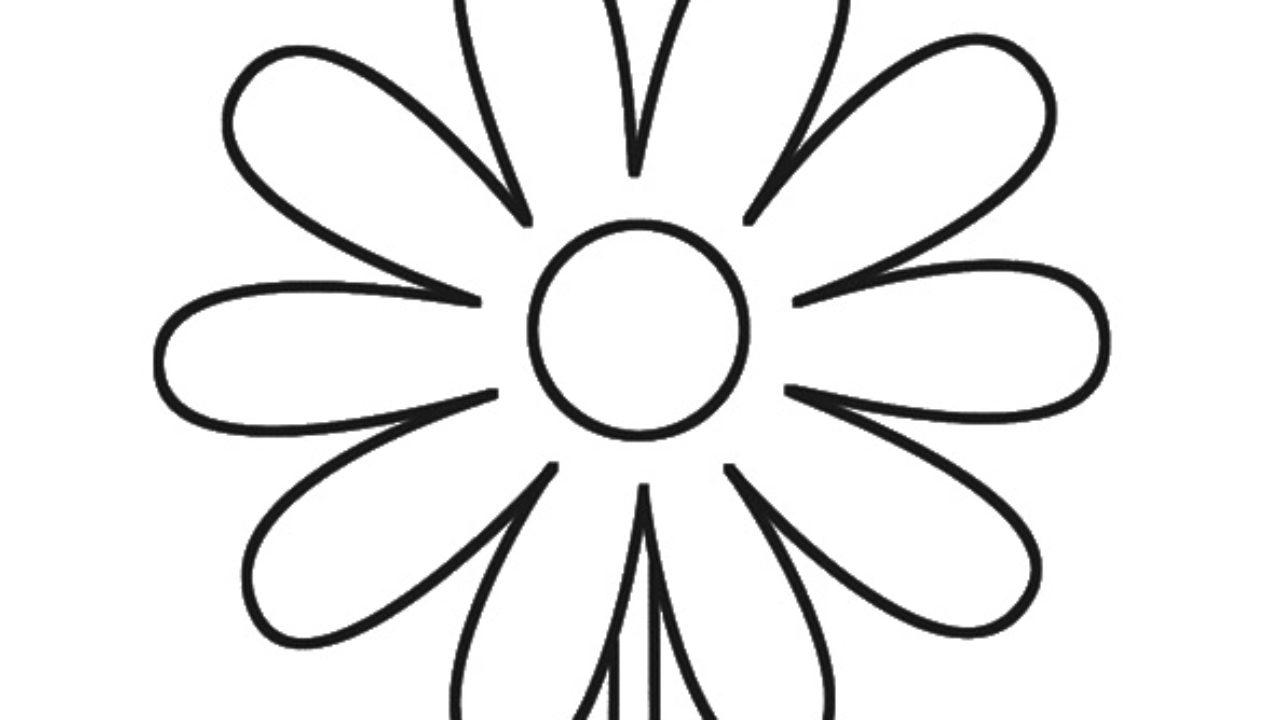 Bela Flor Desenhos Para Imprimir E Colorir