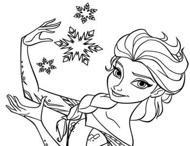 Desenhos Do Frozen Desenhos Para Imprimir E Colorir