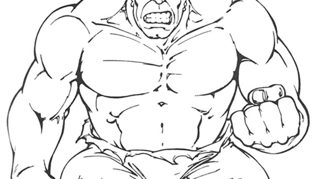 Hulk Desenhos Para Imprimir E Colorir