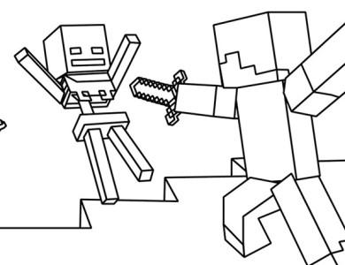 Desenhos Do Minecraft Desenhos Para Imprimir E Colorir Page 2