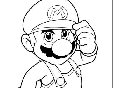 Paper Mario Images Desenho Super Mario