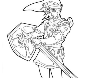 Desenhos Do Zelda Desenhos Para Imprimir E Colorir