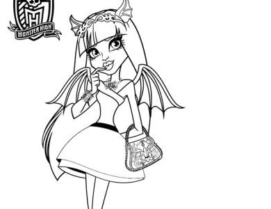 Desenhos Das Monster High Desenhos Para Imprimir E Colorir Page 2