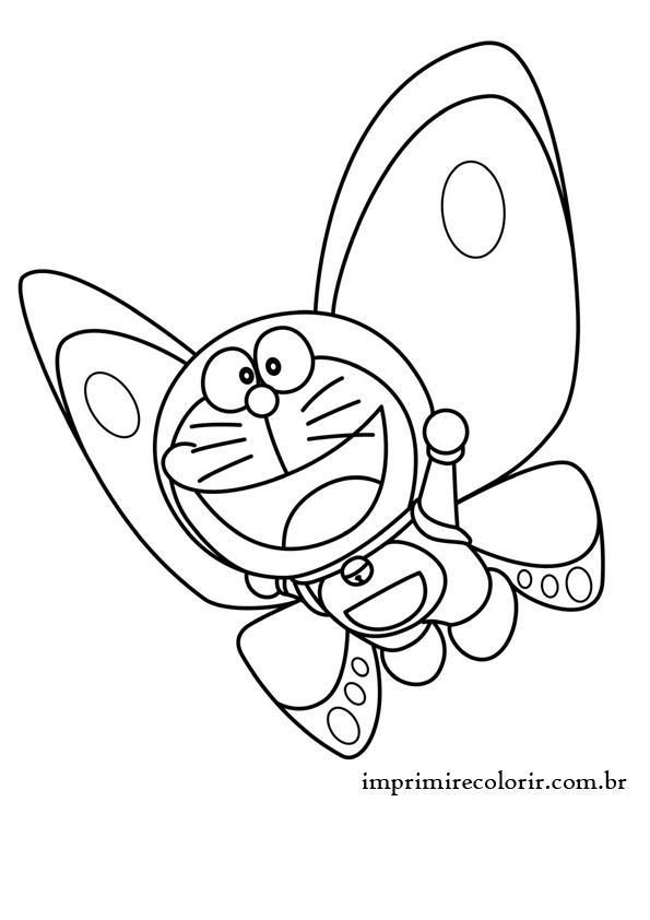 doraemon-borboleta