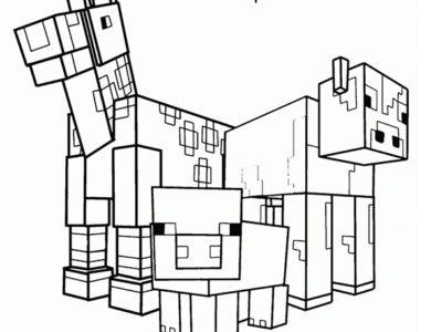 Desenhos Do Minecraft Desenhos Para Imprimir E Colorir