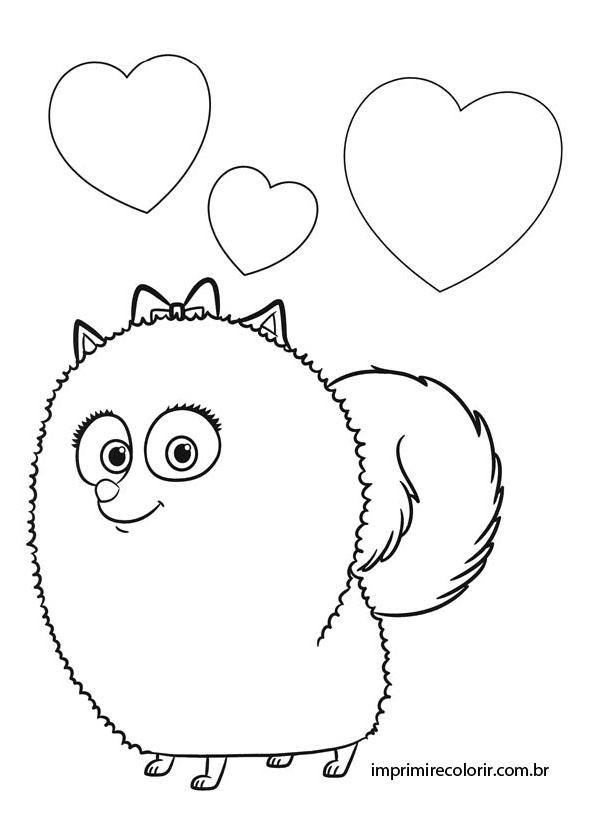 gigi desenhos para imprimir e colorir